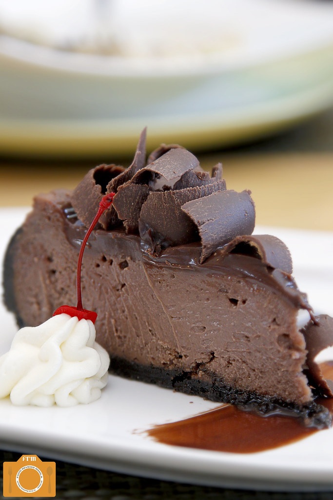Con Gusto Chocolate Cheesecake