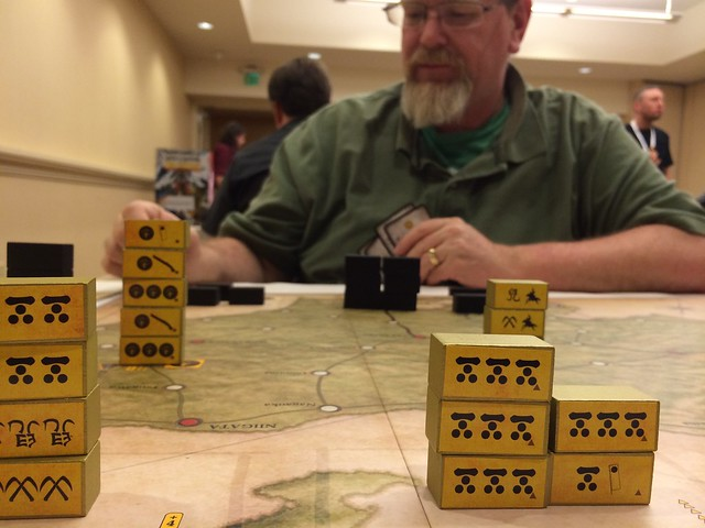 Sekigahara with Ken at GameStorm 16