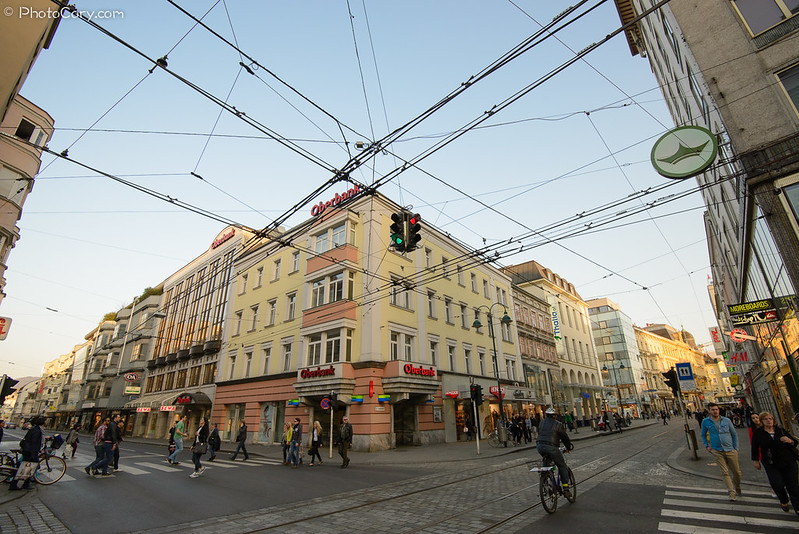 Linz, center of the city