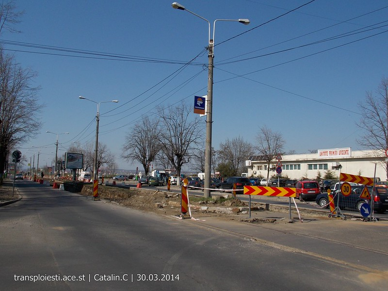 Traseul 102, etapa I: Bucla Nord ( Sp. Județean ) - Intersecție Republicii - Pagina 2 13605764894_9efd7a324d_c