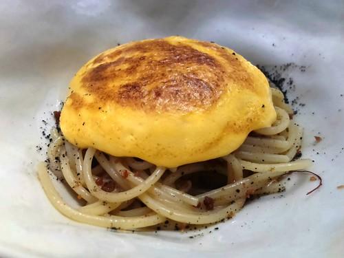 Sea Urchin Carbonara Spaghetti