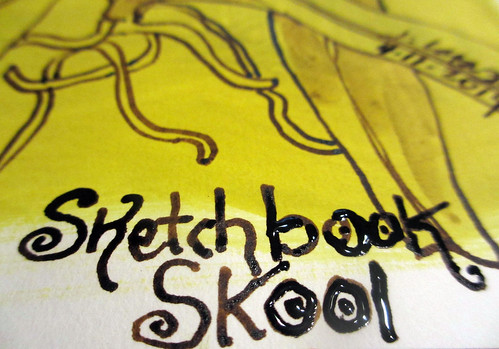 Sketchbook Skool week one