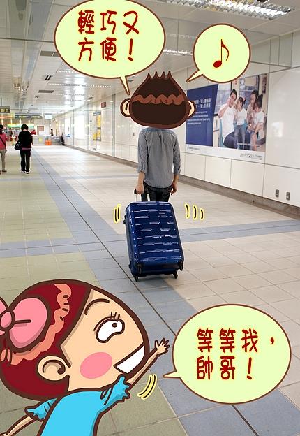 新秀麗行李箱26
