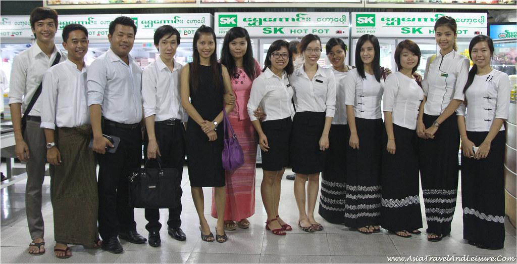 My Myanmar Travel & Tours Team in Yangon