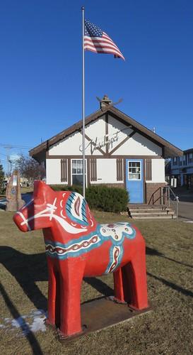 minnesota mn kanabeccounty mora animals dalahorses swedishcommunitiesintheunitedstates fiberglasspublicart northamerica unitedstates us