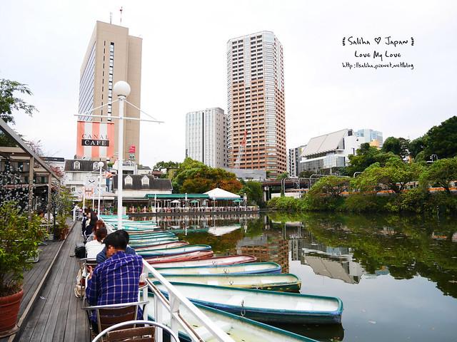 日本東京自由行賞櫻canal cafe水上餐廳 (11)