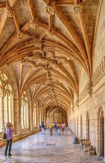 Claustro do Mosteiro dos Jerónimos (HDR)