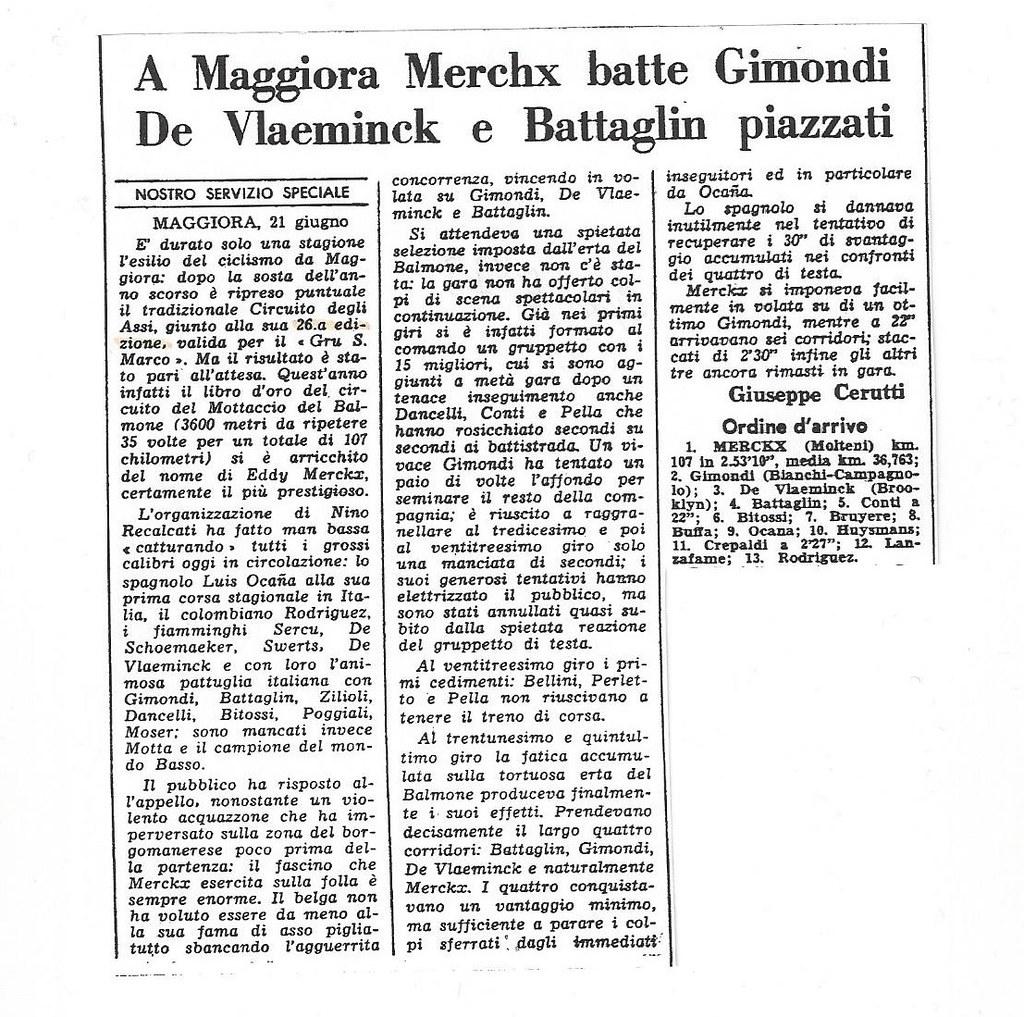 Circuito Maggiora 1973