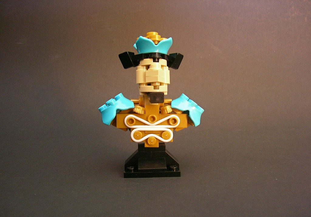 The Flower King (custom built Lego model)
