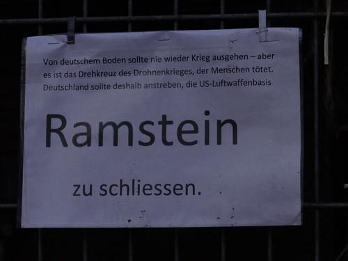 US - Luftwaffenbasis Ramstein schliessen