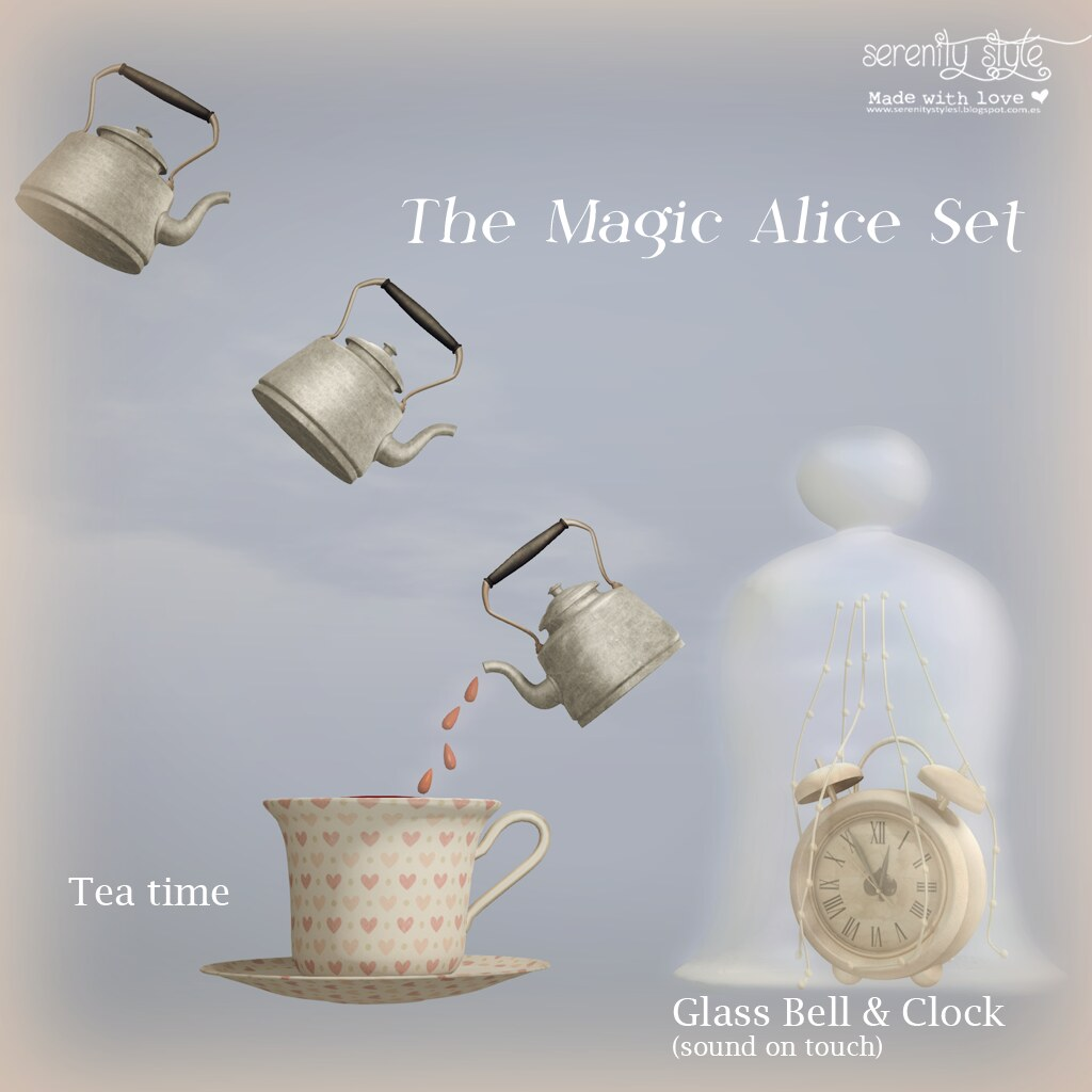 Serenity Style- The Magic Alice Set - SecondLifeHub.com