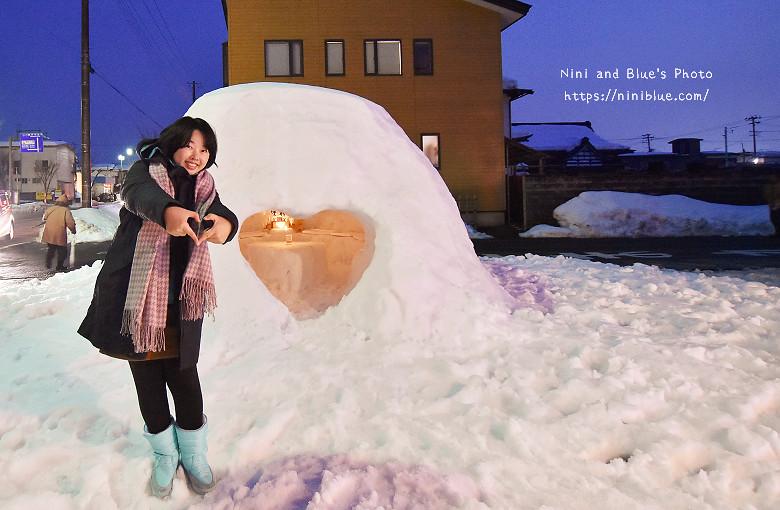 日本東北秋田自助旅行雪屋祭典09