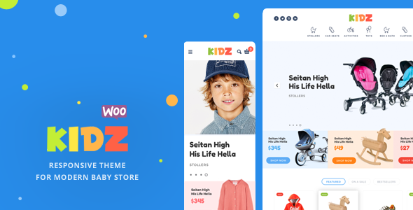 KIDZ v1.3 - Baby Store WooCommerce Theme