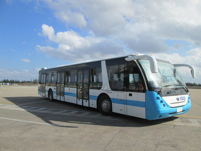 Yutong airport bus