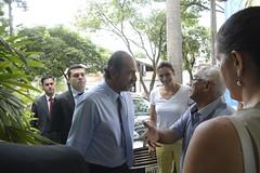 Agenda do prefeito - Alexandre Kalil visita o hospital Sofia Feldman
