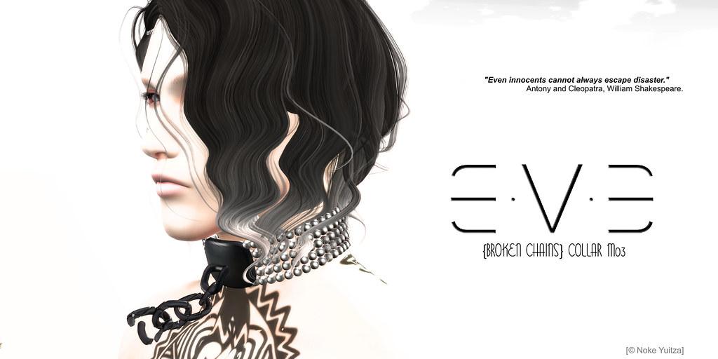 E.V.E {Broken Chains} Collar M03 - SecondLifeHub.com