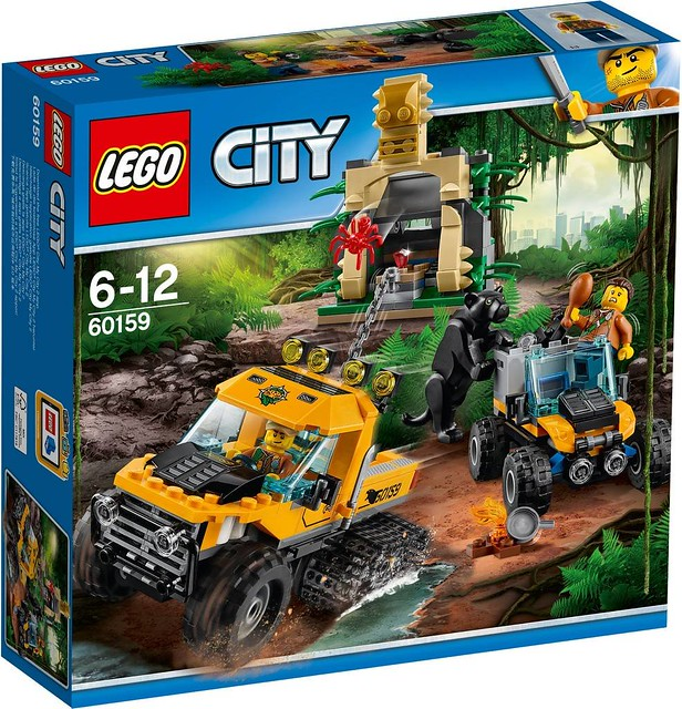 60159 Jungle Halftrack Mission 1