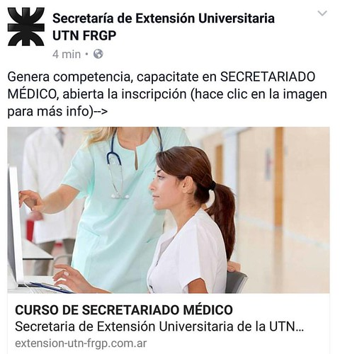 Curso de #secretariadomedico del #InstitutoTALADRIZ en UTN PACHECO www.InstitutoTALADRIZ.com.ar