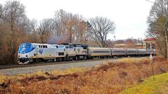 Train 20 passing Burke Center (VA) station