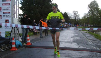 Nymburský půlmaraton vyhrál Podškubka