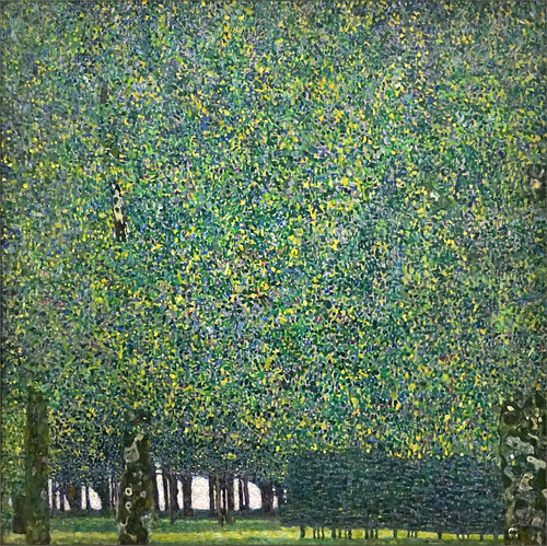 Le Parc de Gustav Klimt (Grand Palais, Paris)