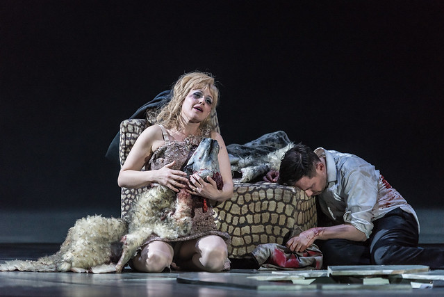 Sally Matthews and Iestyn Davies in The Exterminating Angel (C) ROH 2017. Photograph by Clive Barda