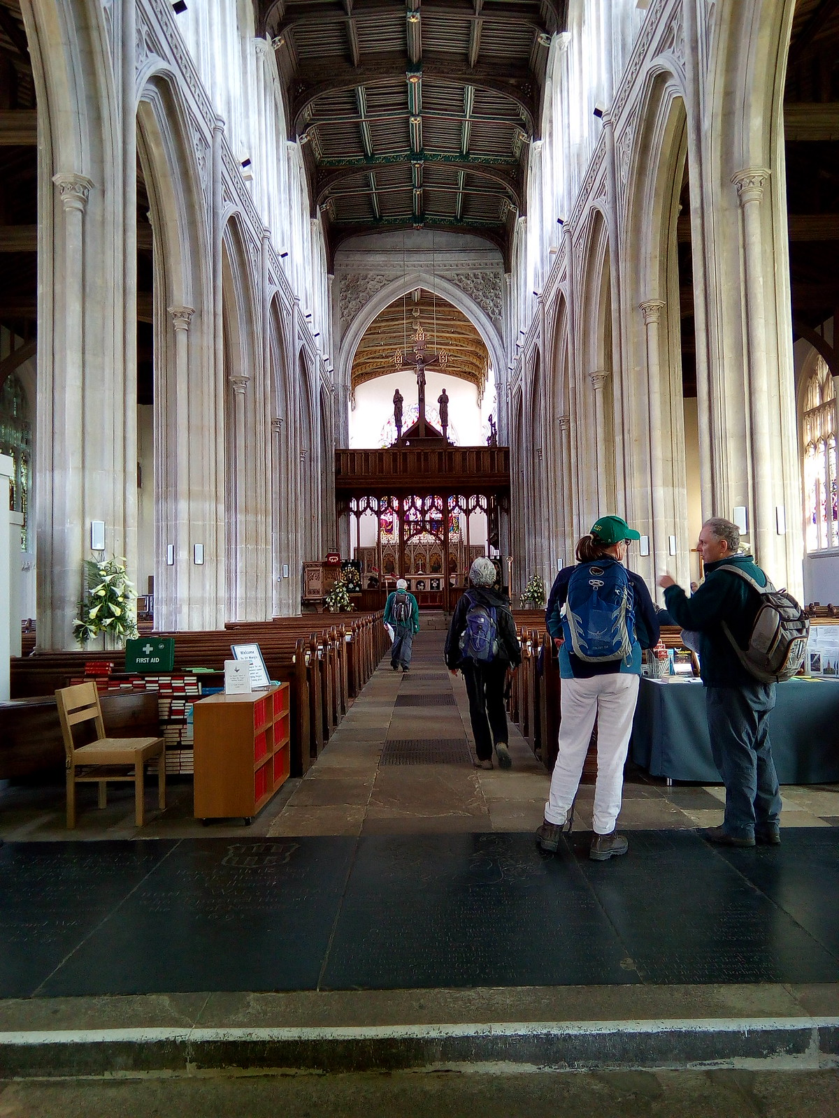Inside St. Marys Saffron Walden