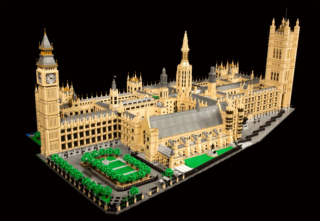 Palace of Westminster (custom built Lego model)