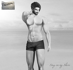 <EMOZIONE> Male Pose **Stay on my Shore**!