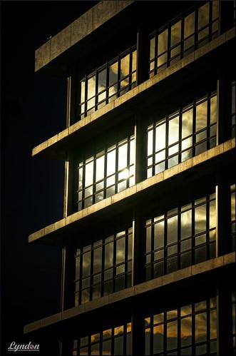 masterton 2017 wairarapa newzealand nz architecture building gimp ilce7m2 sony evening sunset reflection window