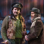 Waiting for Godot - Arvada Center 2017 - Pictured: Sam Gilstrap (Pozzo) and Timothy McCracken (Estragon) Photo Credit: M. Gale Photography 2017