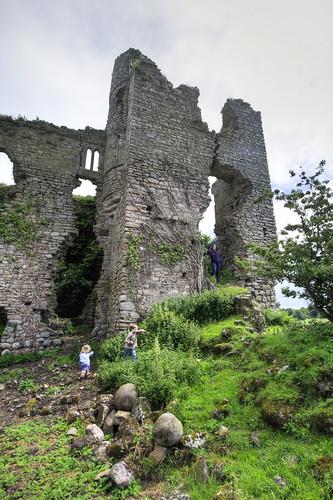 exploring Clonmore Castle