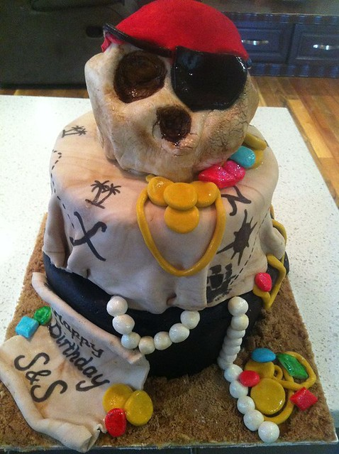 Pirate Cake from Cakes By Reanna