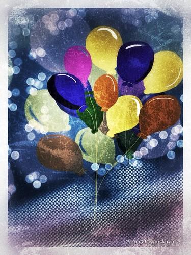 iPad Art by Anna Orlyanskaya