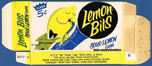 Fleer Lemon Bits Gum - 1960s by Waffle Whiffer