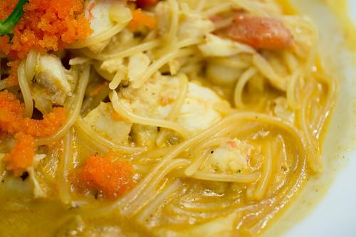 Crab Pasta :: Grey Hound @Central Chidlom