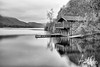 Boat House, Monochrome