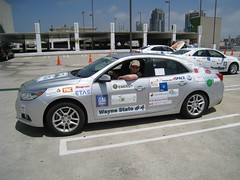 EcoCAR 2 team competes in Year Two Competition