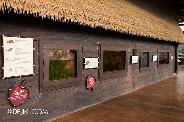 River Safari - Mekong smaller exhibits