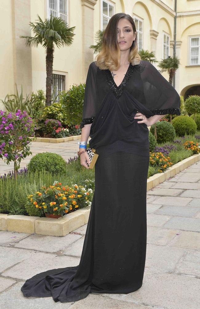 5 Eleonora Carisi in Roberto Cavalli@Life Ball 2013 Gala Dinner
