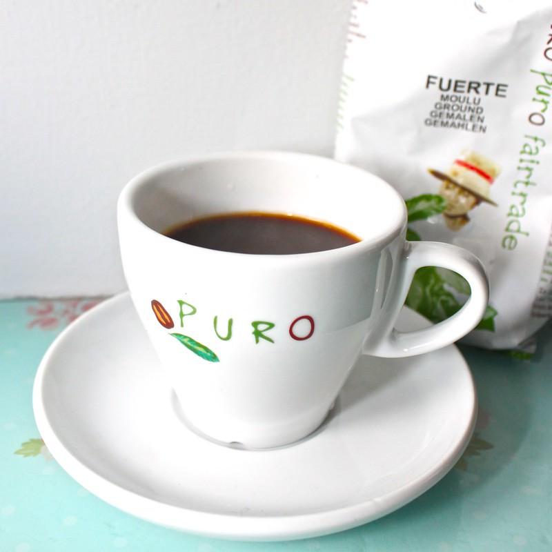 Stovetop Espresso Puro Coffee