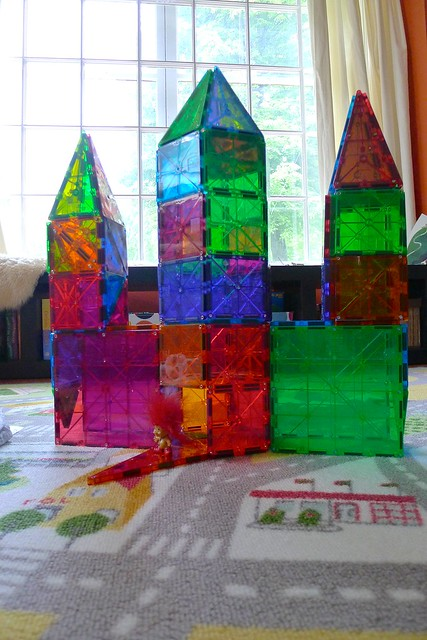 Magna-Tiles Creations #4 - a gallery on Flickr