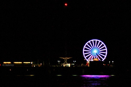 The Pleasure Pier in Galveston, Tx