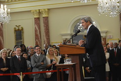 Secretary Kerry Delivers Remarks at the World Food Prize Laureate Announcement Ceremony