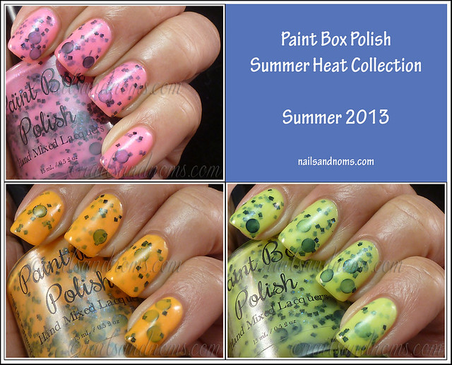 Paint Box Polish Summer Heat Collection (Summer 2013)