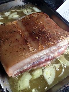 poitrine de porc
