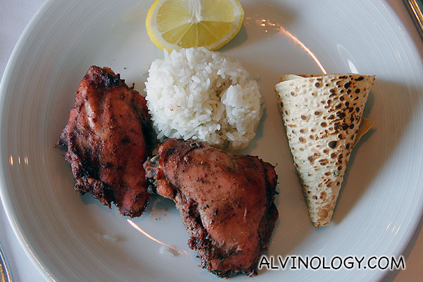 Tandoori chicken for me