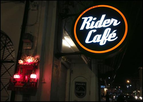 Rider Cafe, Phuket Town - Street View