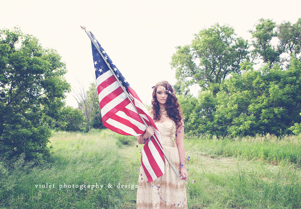 American Hippie 4th of July Inspired Photoshoot