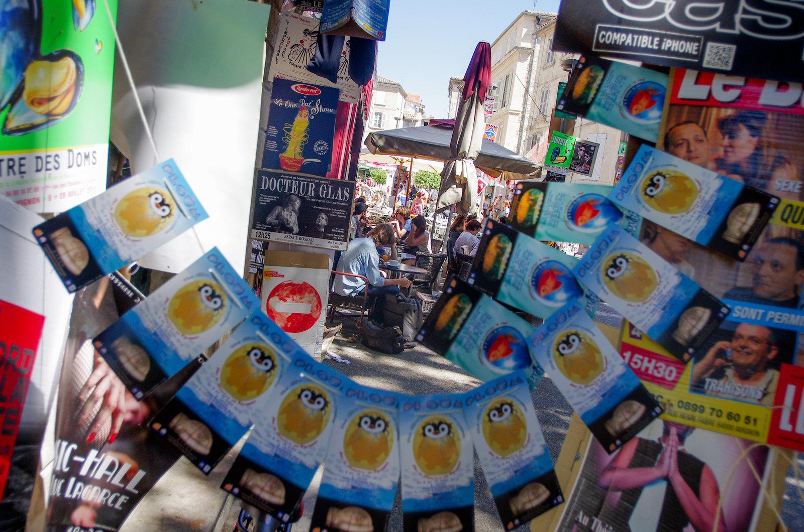 Festival d'Avignon - Place des corps saints